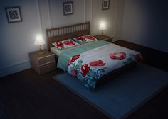 Bed Linen & Bedding Sets Mockup (4)