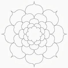 Zentangle template