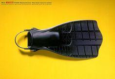 Creative Pirelli print ads