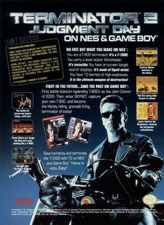 @Terminator Hasta la Vista, LJN (1992).#TerminatorGenisys#NES #bitstory