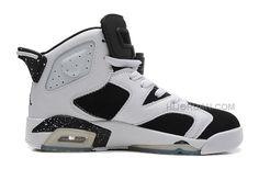 "sale retailer 94337 e5f69 Air Jordans 6 Retro ""Oreo"" White Black-Speckle"