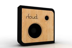 #speaker #wall #wood #design #houd