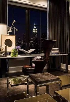 cool men home office