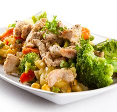 Recipes/Dinner/Broccoli-Ginger-Chicken | Zone Diet | Home of Anti-Inflammatory Nutrition