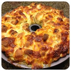Pepperoni & Mozzarella Pull Apart for a Tasty Tailgate #SundaySupper : In The Kitchen With KP
