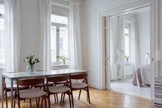 La casa serena de un blogger de moda sueca