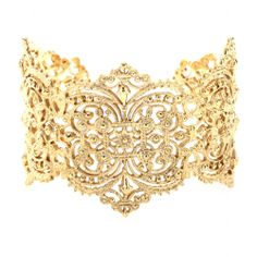 mytheresa.com - IAM by Ileana Makri - CHANTILLY LACE CUFF BRACELET - Luxury Fashion for Women / Designer clothing, shoes, bags
