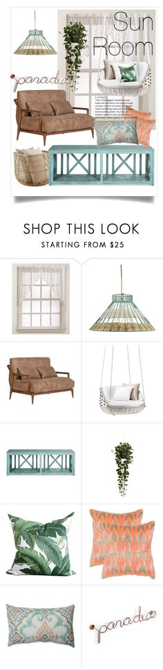 """""""Sun Room"""" by nabila-faiza ❤ liked on Polyvore featuring interior, interiors, interior design, home, home decor, interior decorating, Lichtenberg, Holly's House, Nearly Natural and Safavieh"""