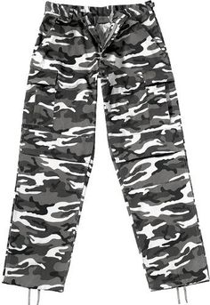 #Camouflage #Military BDU Pants, Army Cargo Fatigues (Polyester/Cotton #Twill)   now they can't see me in the jungle!!!   http://amzn.to/HlHPxG