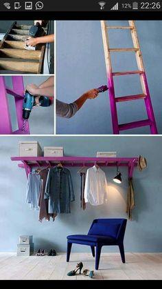 Gemaakt van ladder