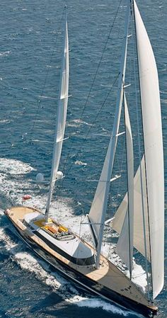 A representation of what a sublime sailboat should be, Mondango 3 exudes luxury and excellence in design and engineering.