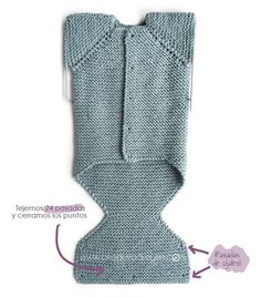 New Ideas knitting baby onesie bebe