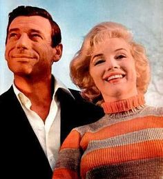 Marilyn Monroe and co star Yves Montand in the 1960 film 'Let's Make Love'