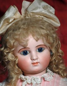 VERY BEAUTIFUL LARGE FRENCH BISQUE BEBE STEINER, SERIES - 2