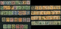 China 1913 38 Used 73 Stamps Junks Martyrs Opts  OLD LOT |