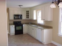 10 x 10 L shape kitchens with white cabinets - Google Search