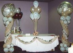 Balloon Decoration Ideas | ... Table Decorations & Other Wedding Reception Table Decoration Ideas