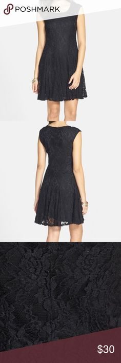 Socialite Cap Sleeve Skater Dress This is. super cute and comfortable skater skirt dress. You can dress it up or down for any occasion! I love this dress! From socialite brand at nordstrom. In great condition!🖤 Nordstrom Dresses