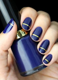 From negative space nails to gold lines and pastel patterns, these manicures will give you the perfect look for Spring.