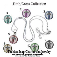 Custom Snap Jewelry Charms https://www.etsy.com/listing/254711771/faith-cross-18mm-snap-charm-snap-button
