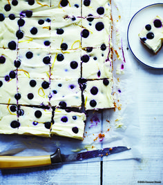 The Sweet Rewards section of the new Cabot Cookbook is a perfect place to get new dessert ideas. They're all easy to prepare, family friendly, and totally yummy, like this recipe for Blueberry-Lemon Cheesecake Squares from the Krebs Organic Dairy Farm. cabotcheese.coop/cookbook #CabotCookbook #farmlove #farmfood #recipes