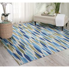 waverly sun nu0027 shade bits and pieces seaglass indoor outdoor rug by nourison