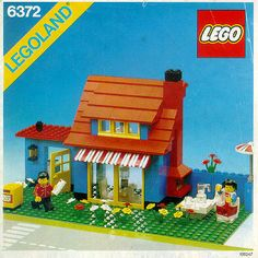 Image result for lego vacation house from 1980