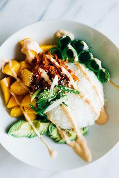Summer Sushi Bowl   Parsley Vegan
