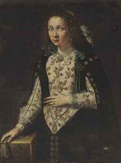 Italian School, circa 1600  Portrait of a lady, possibly of the Della Rovere family