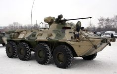 Russian BTR-80A (3) - BTR-80