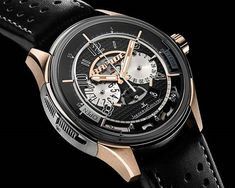 Jaeger-LeCoultre's AMVOX2 chronograph tells time and is also the key to your Aston Martin