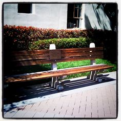 The bench from Forrest Gump here on the Paramount lot. One is also in Savannah, GA.