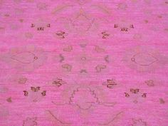 This striking pink overdyed rug is our #DealoftheDay!  5' X 7' #PINK #OVERDYED #ZIEGLER #MAHAL 100% #WOOL #HANDKNOTTED #ORIENTAL #RUG http://1800getarug.com/5-x-7-Pink-Overdyed-Ziegler-Mahal-100-Wool-Hand-Knotted-Oriental-Rug-Sh23891