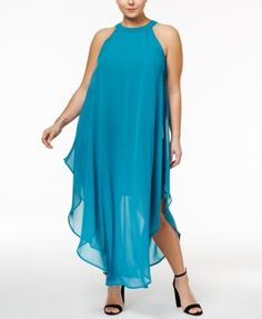 Love Squared Plus Size Maxi Shift Dress $28.99 Consider your style statement made with this stunning plus size dress from Love Squared! Bold stripes and a shift silhouette make it a truly unique piece.