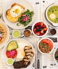 Best NYC Brunch Restaurants - Delicious Breakfast Spots | Is there anything better on a Saturday afternoon than a spicy Bloody Mary and some bacon and eggs? We've picked 35 NYC spots to indulge yourself. #refinery29 http://www.refinery29.com/brunch-restaurants