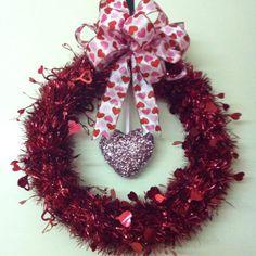 valentine wreath | Valentines Day wreath | Wreaths