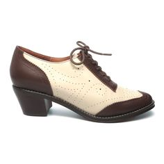 So cute, a fine impression. 3 color ways. Heel, 1 7/8, too high for me , but already have an oxford for impression is very nice. AL. Boardwalk – Re-Mix Vintage Shoes