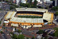 I've visited the Wolverhampton soccer stadium many times. English Football Stadiums, British Football, English Football League, European Football, Soccer Stadium, Sport Football, Wolverhampton Wanderers Fc, Bristol Rovers, Coventry City