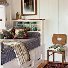 and the top of it...from the bottom of the window up, will look like this....one long cubby.