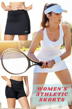 BALEAF Women's Athletic Skorts Lightweight Active Skirts with Shorts Pockets Running Tennis Golf Workout Sports Secure & comfortable two layer - skirt outer and shorts inner, you can enjoy your sports without worries. double layer triangle shaped gusset avoids riding up & pinching, enhances your range of motion #tennisskirtoutfit#tennisskirt#sportswears#ad