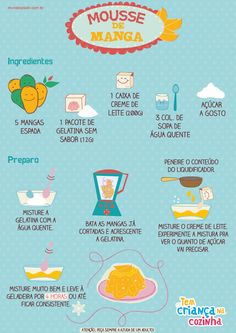 recipes to try Sweet Desserts, Sweet Recipes, Delicious Desserts, Yummy Food, Menu Dieta, Biscuits, Le Diner, Portuguese Recipes, Food Illustrations