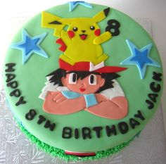 Pokemon Birthday Cake Ideas