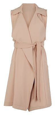 Womens light peach jacket from New Look - £22.99 at ClothingByColour.com