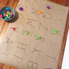 20 FREE interactive alphabet activities for kids. These engaging alphabet activities are great for toddlers, prek preschool age, and literacy centers for kindergarten! Use these fine motor sensory games and art projects in your classroom or at home. Preschool Letters, Preschool At Home, Free Preschool, Preschool Learning, Learning Activities, Activities For Kids, Interactive Games For Toddlers, Nursery Activities, Teaching Themes