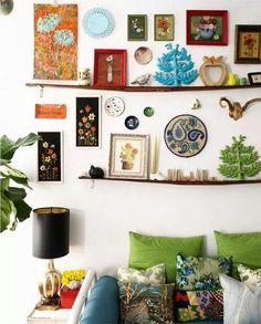 Neat wall gallery