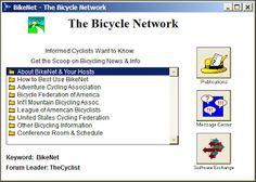 AOL The Bicycle Network (BikeNet) ScreenShot