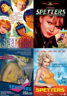 Promotion for Dutch movie Spetters, from 1980 to 2012. Actress Renee Soutendijk has transformed a lot! ;) You can click on the image to see the original.