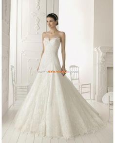 Detachable Straps Applique Lace Princess Elegant Wedding Dress Gown 2013