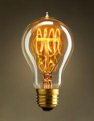 Ретро лампочка Эдисона