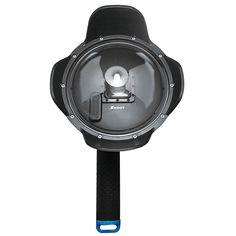 SHOOT 6 pulgadas Dome Puerto para Gopro Hero 4 3 más Cámara Con LCD Impermeable Caso
